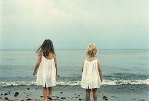 Enfants / A la mer