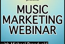 Music Marketing Webinars / Webinars hosted by Michael Brandvold and Brian Thompson that teach you how to promote your music online.