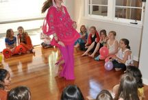Themes: Bollywood Bling Party / Bollywood - the colour! The glamour! The music! How could your party guests not have a ball?  Easy Breezy Parties in Melbourne, Australia, offers Bollywood themed kids parties, including a dance workshop where guests learn a Bollywood routine. Whoo! www.facebook.com/easybreezyparties.