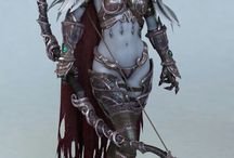 World of Warcraft / Pics items and cosplays