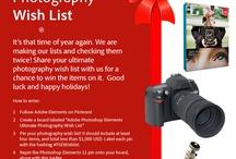 Adobe Photoshop Elements Ultimate Photography Wish List