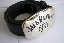 Cintos com Fivelas Jack Daniels