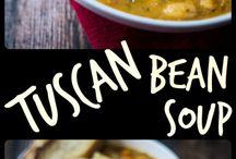 Tuscan Bean Soup / Soup
