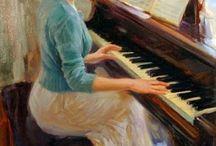 ARTE / Óleos, pinturas, fotografías...Pintores conocidos a nivel mundial