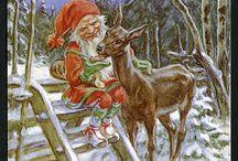 joulukortteja Jenny ja Curt Nyström