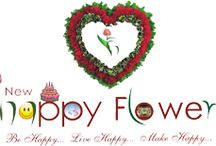 floristhff / Purchase and send Flowers Delivery in Delhi by online trusted florist New Happy Flowers that presents to send cheap cake roses birthday flower in Delhi within  2 Hours