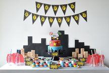 Superhero Experience / Superhero Desserts, Superhero Dessert Table