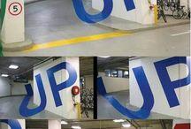 Parking in creative ways