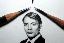 Bettina's Miniature Drawings