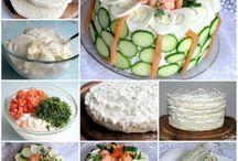 Voileipäkakkuja ja muita syötäviä