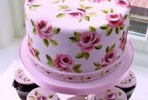 tortas pintadas a mano