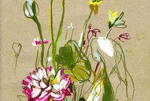toile de fleurs