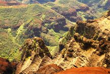 Hawaii Photos / Most beautiful spots to see. Kauai and the Big Island.