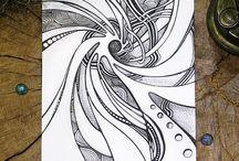 Абстрактные рисунки