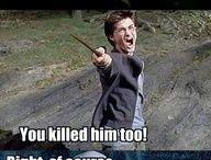 Harry Potter / všechno možné spojené s Harry Potterem