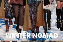 #Interiors - Winter Nomad / WrapUps | Trend AW16 Winter nomad - Arctic Snow Queen. Textures and layers like with fashion, clothes, food, accessories and art all are influenced by roughly textured natural fiber weaves, primitive rough stonework, shaggy fiber piles, or even inter-woven natural wood.