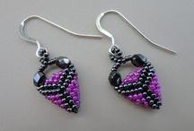 Earrings peyote