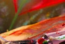 Art / process / Кисти, краски,, планшеты, цвета и прочее, прочее...