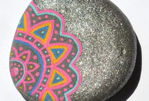 Rocks painting.