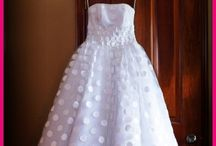 Polka Dot Wedding Dresses