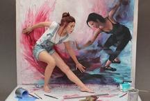 art dolls / by Nena Derbedrossian