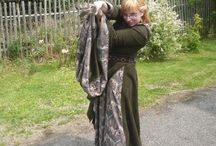 Eowyn cosplay / Eowyn, the Rohan Shield Maiden costumes and cosplays including my owns.
