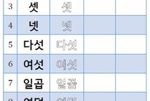 Learn Korean Practice Sheet