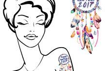2017 NYE Temporary Tattoos