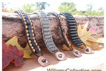 Designs made for celebs! / Handcrafted leather bracelets made for Hollywood's biggest stars!