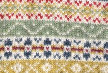 Pattern: Fair Isle / The traditional patterns used in Fair Isle knitting