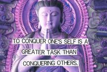 yoga inspirational quotes and fitness / body goals.