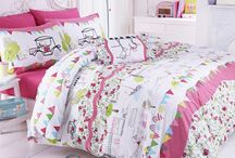 Hello Kitty Designers Guild Bedding / Gorgeous and fun bedding with the ever popular Kitty. Taking cute to another level.