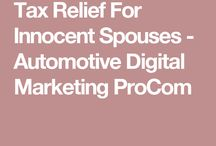 Tax Relief For Innocent Spouses