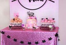birthday party ~ cat