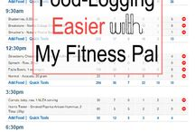 My Fitness Pal / my fitness pal, myfitnesspal, fitness, food journal, weight loss tips