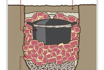 dutch oven/rock crock/cast iron
