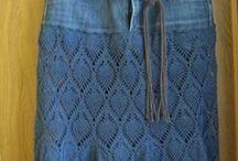 dzianinowe spódnic-Knitted skirts / Modne dzianinowe spódnice