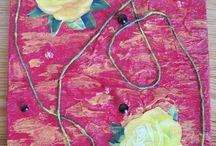 Kollaasi, collage / Kollaaseja, collage art
