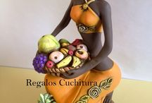 Bonecas africanas e Bonecas namoradeiras