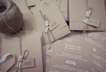 Προσκλητήρια Craft χαρτί