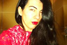 Happy New Year in Red Dress!!!  / In this moment for me NAILS ahahah Happy New Year My Friends !!! Love you people !!!