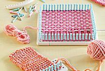 Loom knitting / Maglia