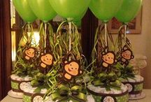 Baby Shower - Monkey