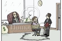 Law and Lawyer Cartoons / Cartoons about law and lawyers, attorneys, law firms, trials, and juries