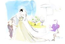 Love Moments / Illustration for Love Moments 2013 Wedding Showcase