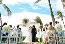 Hawaii Beach wedding, Paradise Cove Beach wedding