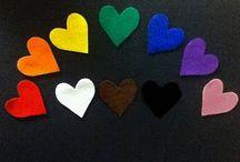 Magnetic Board/Flannel Board Ideas