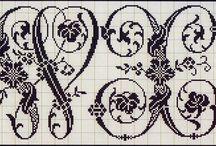 Cross stitch - Alphabet / Alphabets