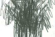 Daniel Schneider Watering Can Drawings