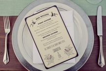 Wedding stationary / by Main Street Fine Catering, Teri Lands